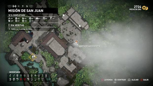 Mapa de archivista 1 (Misión de San Juan)