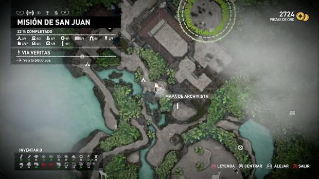 Mapa de archivista 2 (Misión de San Juan)