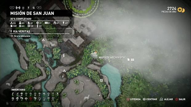 Mapa de archivista 3 (Misión de San Juan)