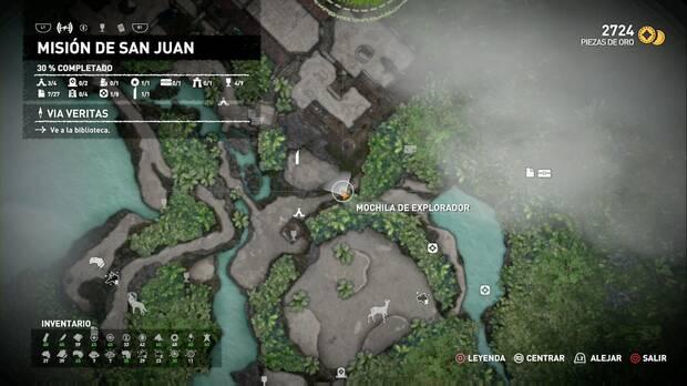 Mochila de explorador 2 (Misión de San Juan)