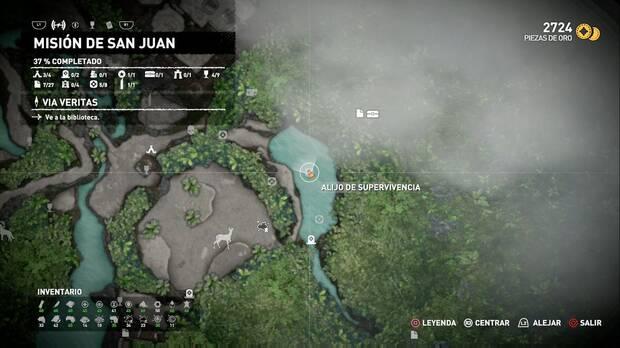 Tesoro oculto 1 (Misión de San Juan)