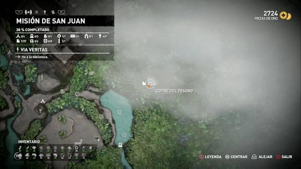 Tesoros: Colgante con guerrero (Misión de San Juan)