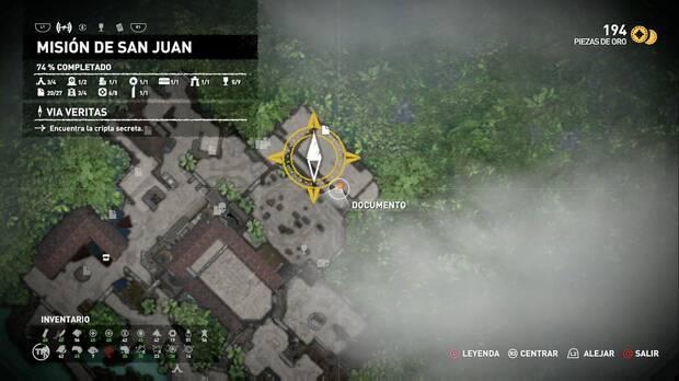 Documento El apóstol San Juan (Misión de San Juan)
