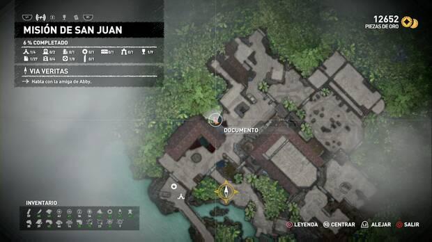 Documento Misión de San Juan (Misión de San Juan)