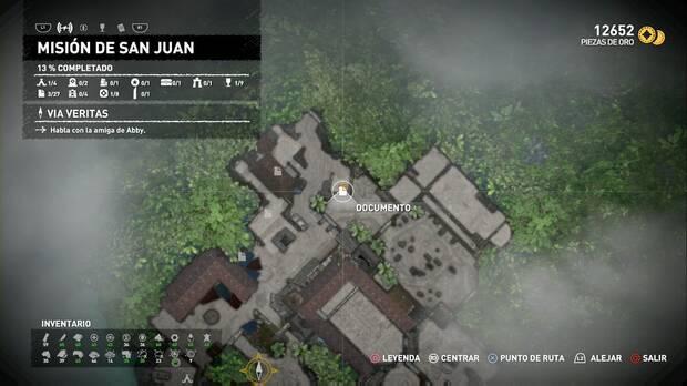 Documento En este lugar (Misión de San Juan)