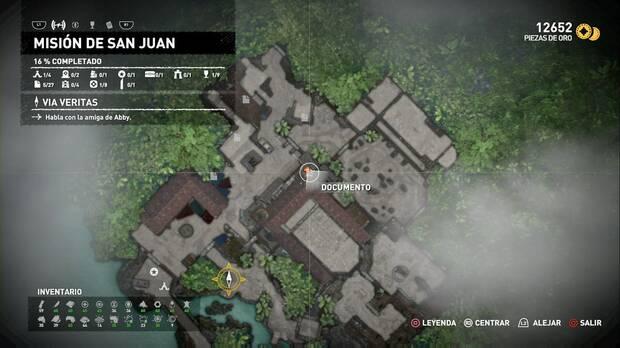 Documento Diario de T Serrano 12 (Misión de San Juan)
