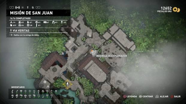Mochila de explorador 1 (Misión de San Juan)