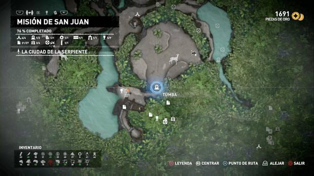 Shadow of the Tomb Raider - Tumba Árbol de la vida: localización