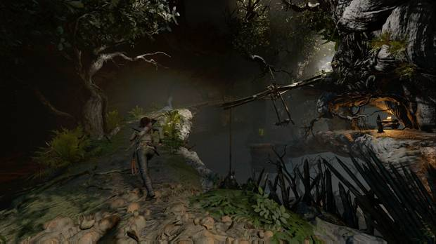 Shadow of the Tomb Raider - Tumba Árbol de la vida: sube por la viga