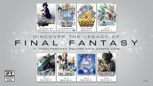 Final Fantasy VII, IX, X, X-2 y XII anunciados para Switch y Xbox One Imagen 2