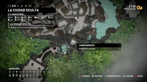 Campamento Cuevas de la aldea (La ciudad oculta)