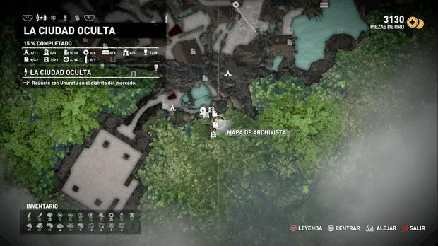 Mapa de archivista 2 (La ciudad oculta)
