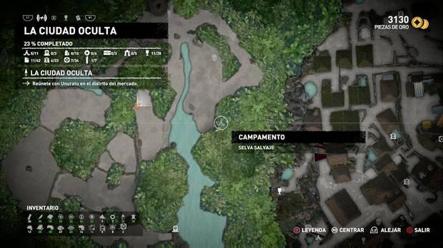 Campamento Selva salvaje (La ciudad oculta)
