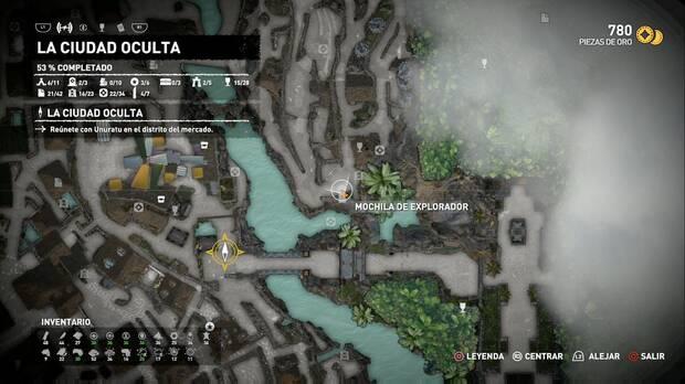Mochila de explorador 5 (La ciudad oculta)