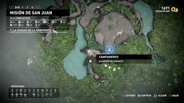 Campamento Claustro del desierto (Misión de San Juan)