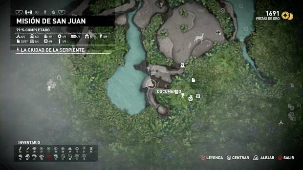 Documento Las colinas están vivas (Misión de San Juan)