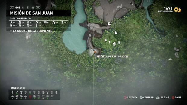 Mochila de explorador 3 (Misión de San Juan)