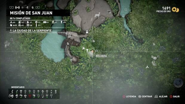 Reliquia Muñeco primitivo (Misión de San Juan)