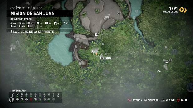 Reliquia Muñeco primitivo 2 (Misión de San Juan)