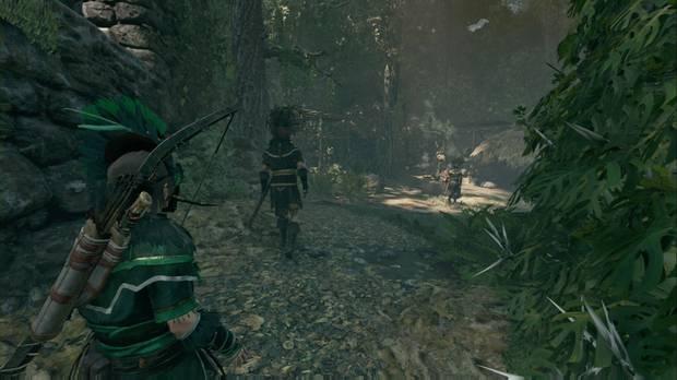 Shadow of the Tomb Raider - Misiones secundrias Descifra los murales y Detén el ritual: sigue a los guardias