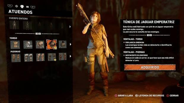 Shadow of the Tomb Raider - Atuendo Ancestral Jaguar emperatriz