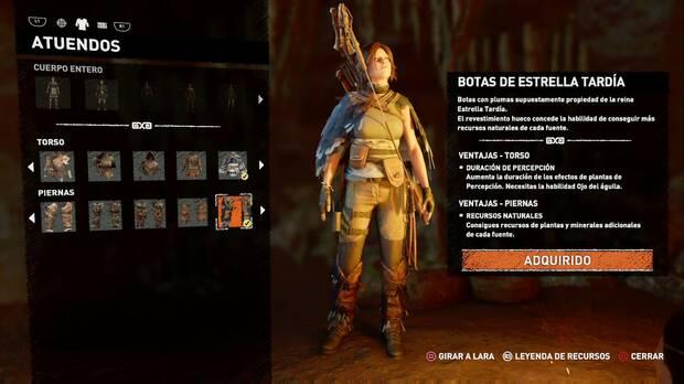 Shadow of the Tomb Raider - Atuendo Ancestral de Estrella Tardía