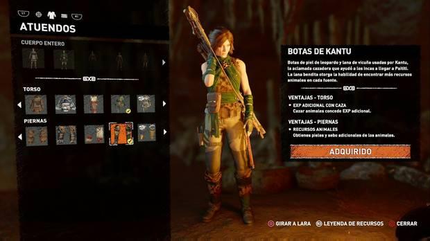 Shadow of the Tomb Raider - Atuendo Ancestral de Kantu
