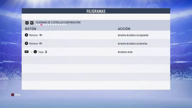 Filigranas de 2 estrellas FIFA 19