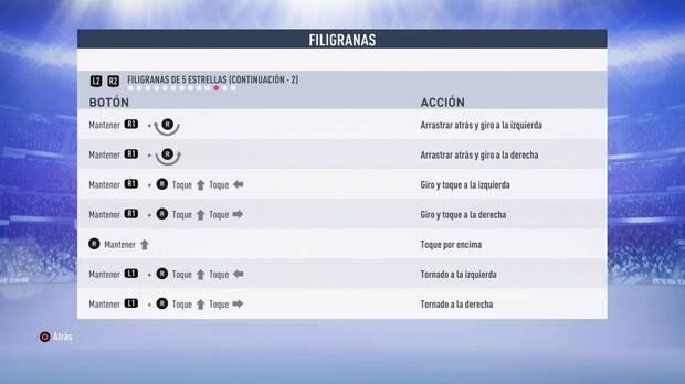 Filigranas de 5 estrellas FIFA 19
