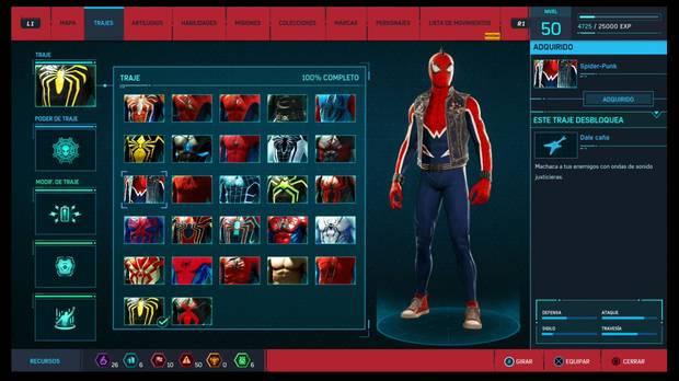 Marvel's Spider-Man - Trajes: Spider-Punk