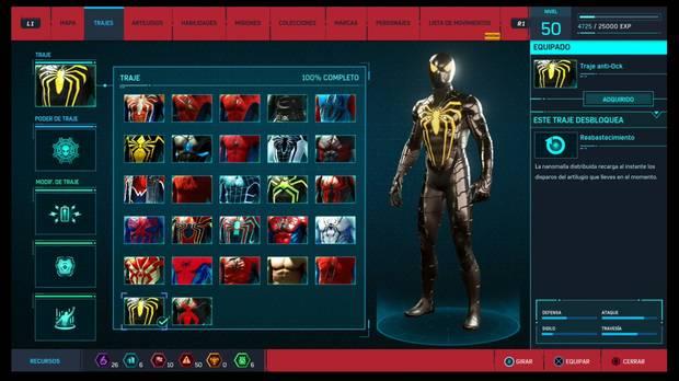 Marvel's Spider-Man - Trajes: Traje anti-Ock