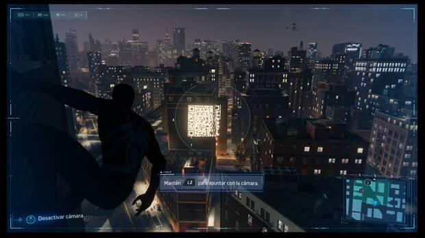 Marvel's Spider-Man - Misión secundaria Fama en internet: posición exacta para sacar la foto