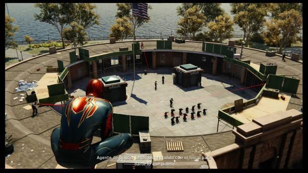 Marvel's Spider-Man - A la caza del francotirador: posición de los francotiradores