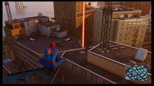 Marvel's Spider-Man - Manteniendo la paz: delito