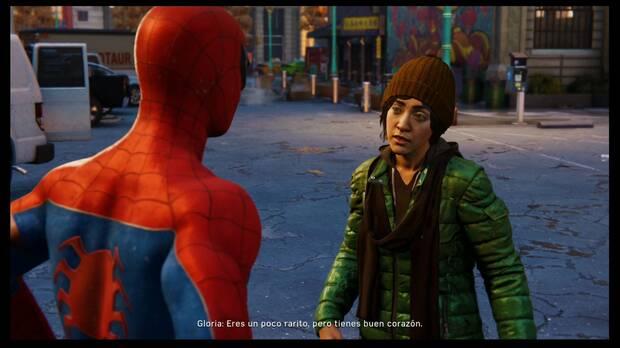 Marvel's Spider-Man - Manteniedo la paz: vagabunda