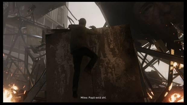 Marvel's Spider-Man - Y el premio es para...: sube por los escombros