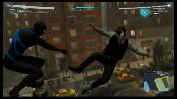 Marvel's Spider-Man - Objetivo doble: elimina enemigos desde las alturas