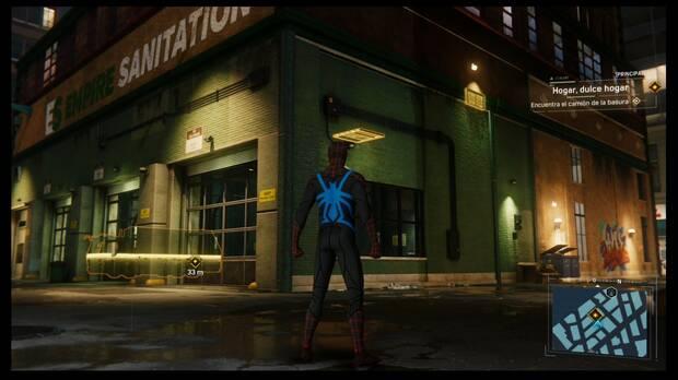 Marvel's Spider-Man - Hogar dulce hogar: acceso al almacén de camiones