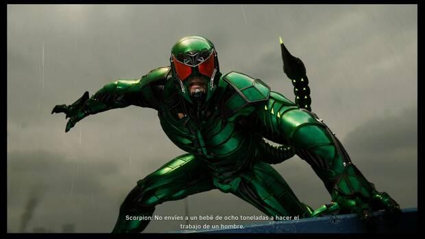Marvel's Spider-Man - Peso pesado: jefe Scorpion