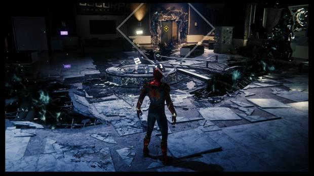 Marvel's Spider-Man - El meollo del asunto: esquiva los restos de energía negativa