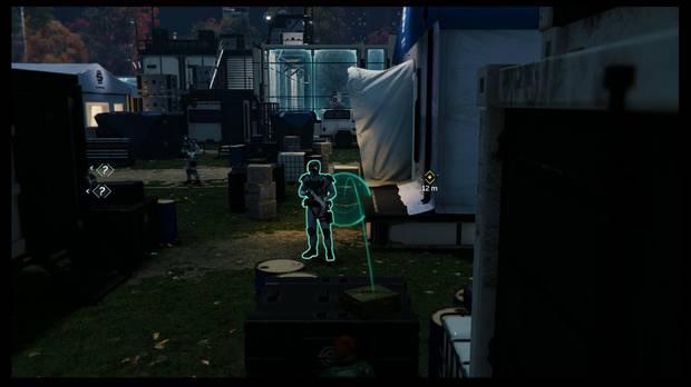 Marvel's Spider-Man - Sin invitación: distrae al último grupo y rodea la tienda de campaña