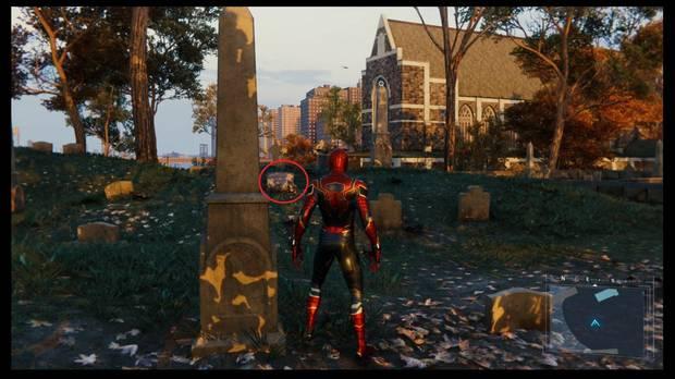 Marvel's Spider-Man: tumba del Tío Ben