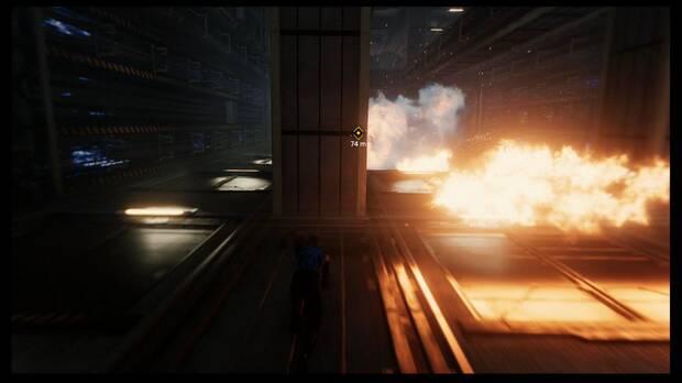 Marvel's Spider-Man - Andando por el tejado: esquiva el fuego cubriéndote con las columnas