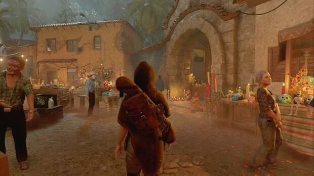 Shadow of the Tomb Raider - El arco de piedra que hay que cruzar para avanzar