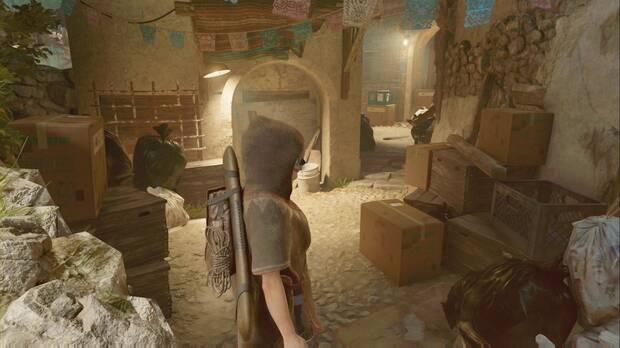 Shadow of the Tomb Raider - Continúa por el callejón