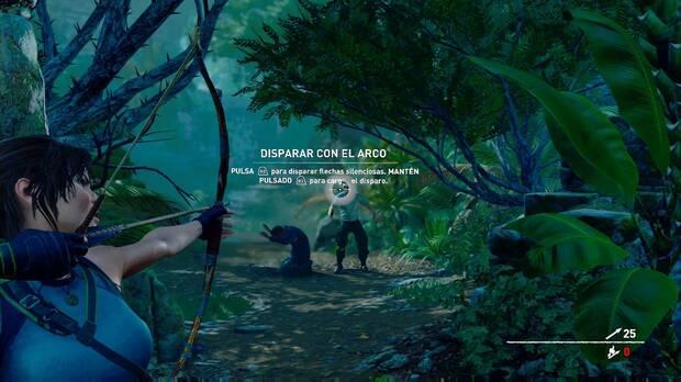 Shadow of the Tomb Raider - Dispara a la cabeza para eliminarlo al instante