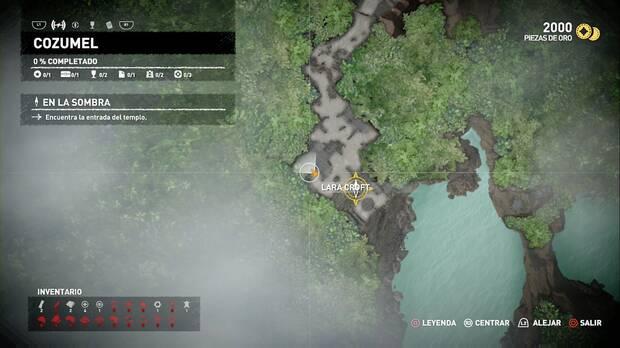 Shadow of the Tomb Raider - Ubicación de la caja de restos