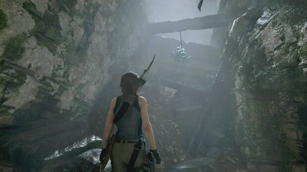Shadow of the Tomb Raider - La luna del cazador: dispara a la primera máscara para iniciar el desafío