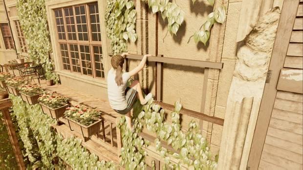 Shadow of the Tomb Raider - Valiente aventurera: escala la pared y gira la esquina