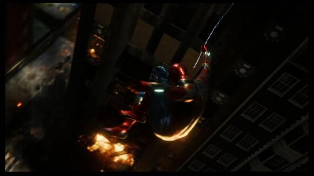 Marvel's Spider-Man - ...a las brasas: huye al centro FESTIN